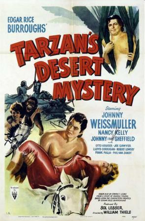 Tarzán en el desierto misterioso (Tarzán el temerario)