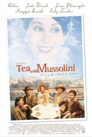 Tea with Mussolini