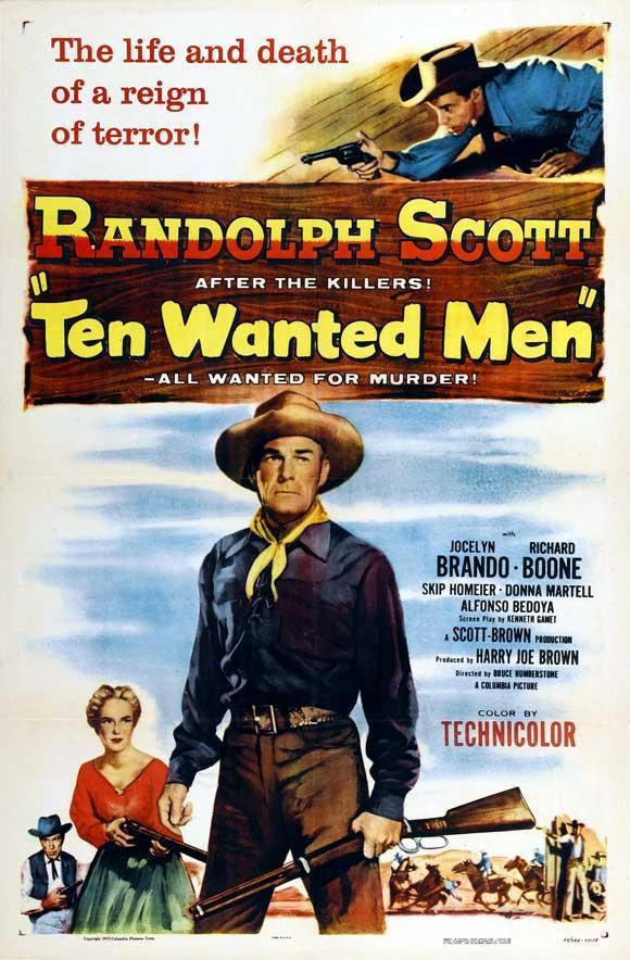 Diez Forajidos (1955) [Western] [Latino] [MEGA]