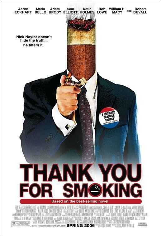 Últimas películas que has visto (las votaciones de la liga en el primer post) - Página 19 Thank_you_for_smoking-274038344-large