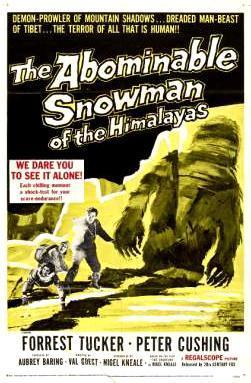 El abominable hombre de las nieves