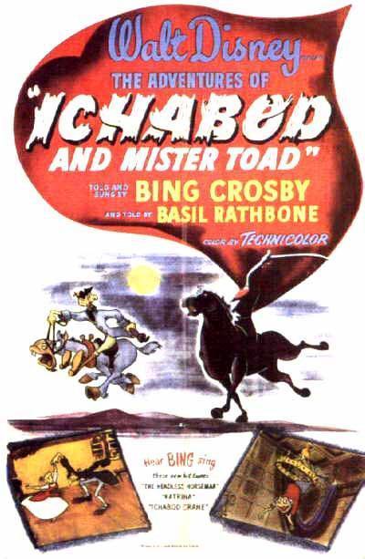 Las aventuras de Ichabod y el Sr. Sapo [1949][Latino][1080P][Mega]