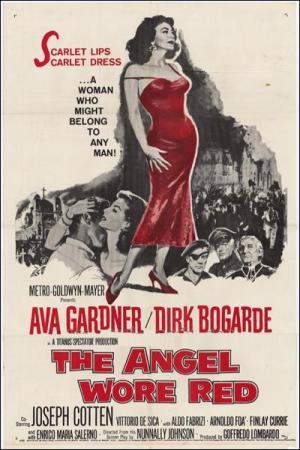El ángel vestido de rojo