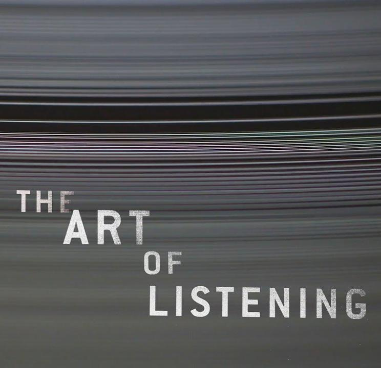 the art of listening Along with asking good questions, cultivating the art of listening well is one of   first, the bible consistently mentions the wisdom in listening.