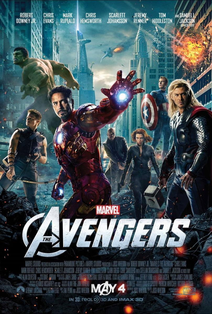 The Avengers: Los Vengadores (2012) 4K UHD Latino – Ingles