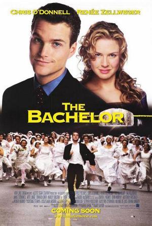 póster de la película de comedia romántica El soltero