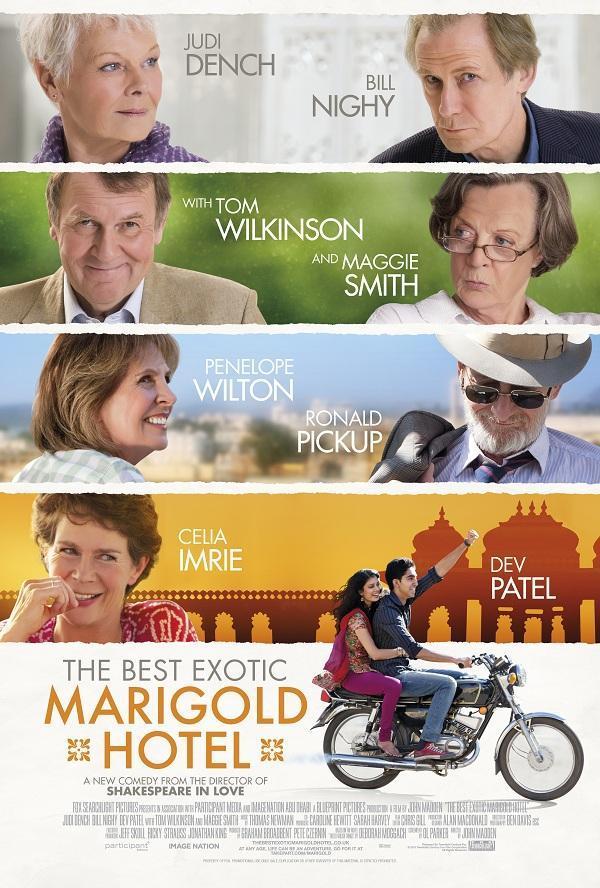 Resultado de imagen para El exótico hotel Marigold