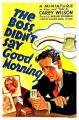 The Boss Didn't Say Good Morning (C)