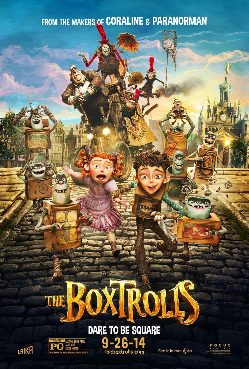 Los Boxtrolls (2014) [1080p] [Latino] [MEGA]