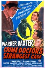The Crime Doctor's Strangest Case