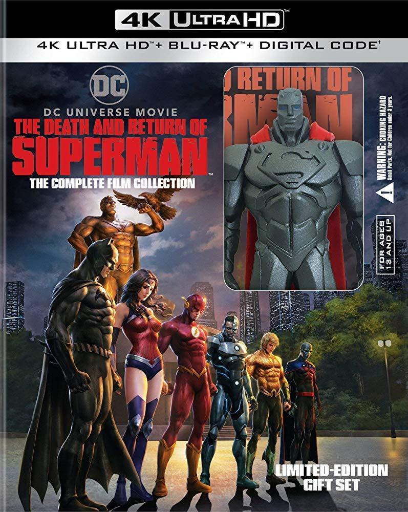 La muerte y el regreso de Superman [2019][Latino][1080p][MEGA]