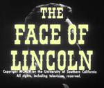 The Face of Lincoln (S)