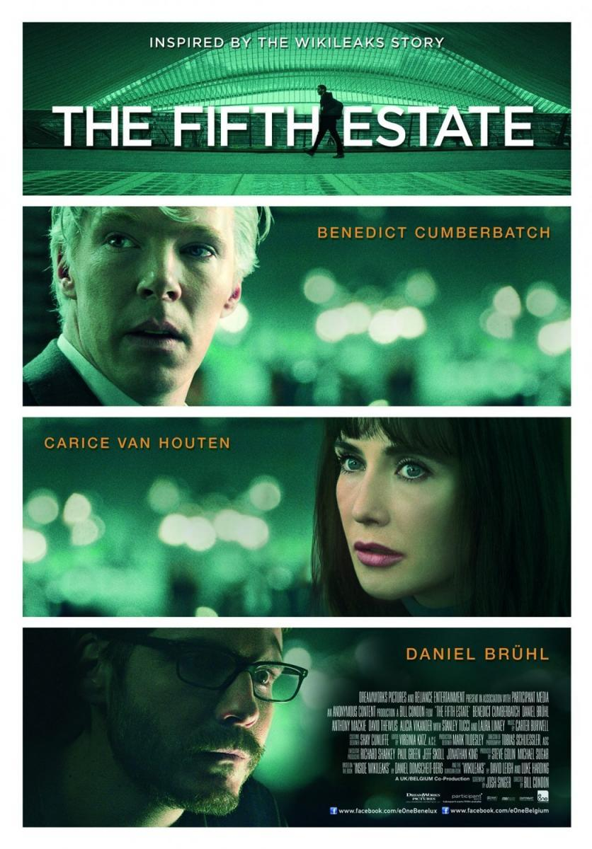 El quinto poder (2013) - FilmAffinity