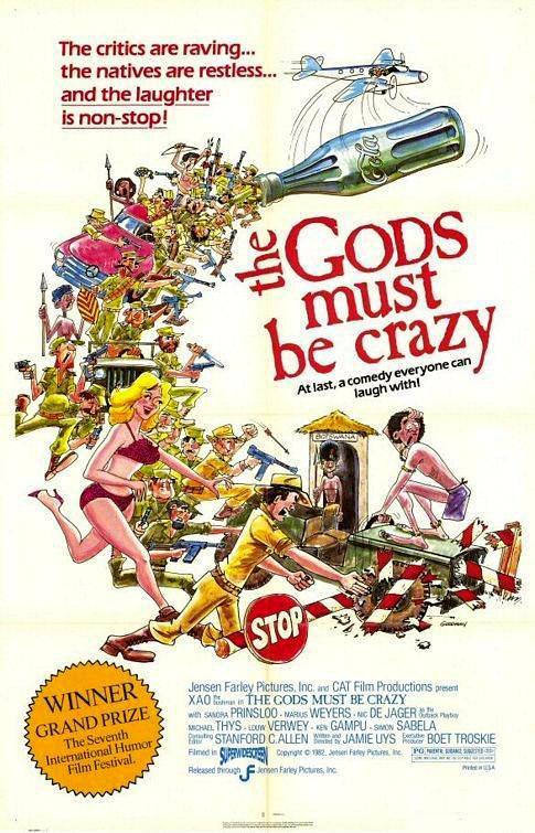 Los dioses deben estar locos 1 y 2 [1980] – [1988], [Latino] [MEGA]