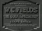 The Golf Specialist (S)