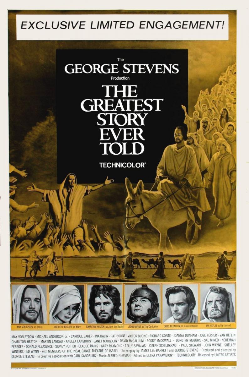 La historia más grande jamás contada (1965)[1080p] [Latino] [Google Drive]