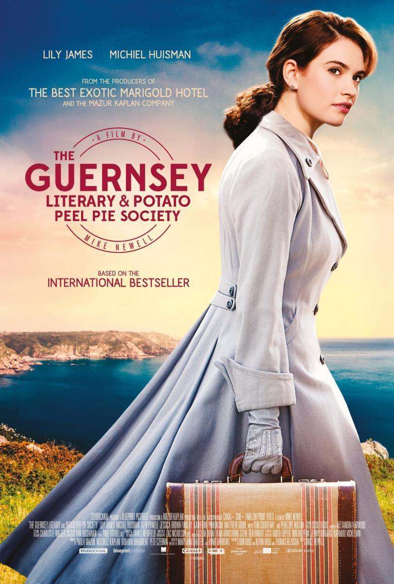 La sociedad literaria y del pastel de cáscara de papa de Guernsey (2018) Full HD Gratis