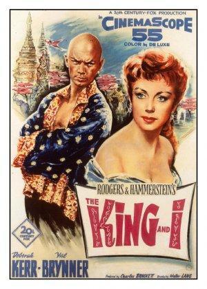 El rey y yo [1956][Es Es – Inglés][1080P][Mega]