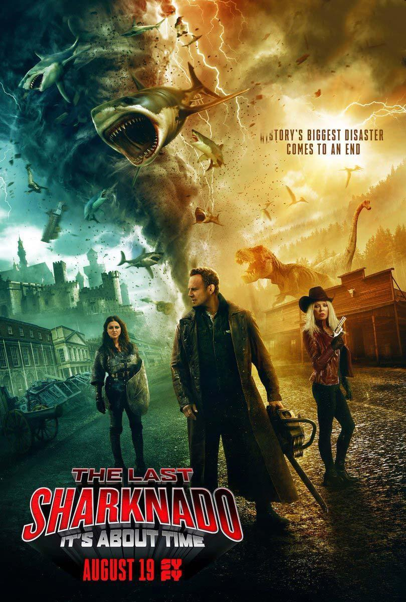 El Ultimo Sharknado: Ya Era Hora (TV) (2018) BRRip 1080p Latino – Ingles