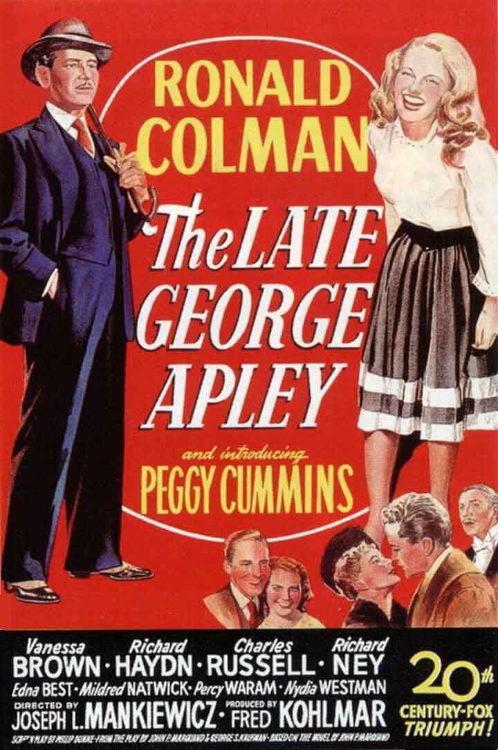 George Apley1947Filmaffinity Críticas El Mundo De RLqc3A54j