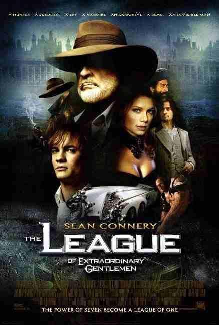 póster de La liga de los hombres extraordinarios