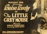 The Little Grey Mouse