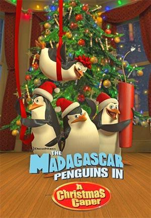 The Madagascar Penguins in a Christmas Caper (S)