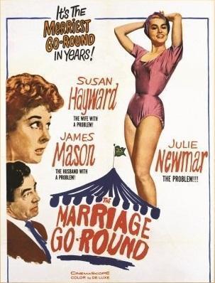 the marriage go round 636330738 large - Lecciones de matrimonio (1961)