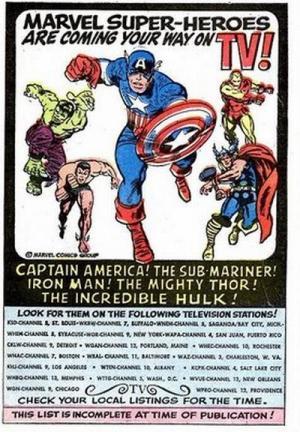 The Marvel Superheroes (Serie de TV)