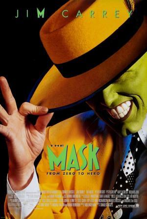 póster de la película cómica La máscara