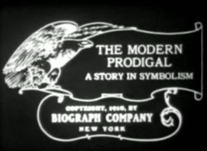 The Modern Prodigal (A Story in Symbolism) (C)