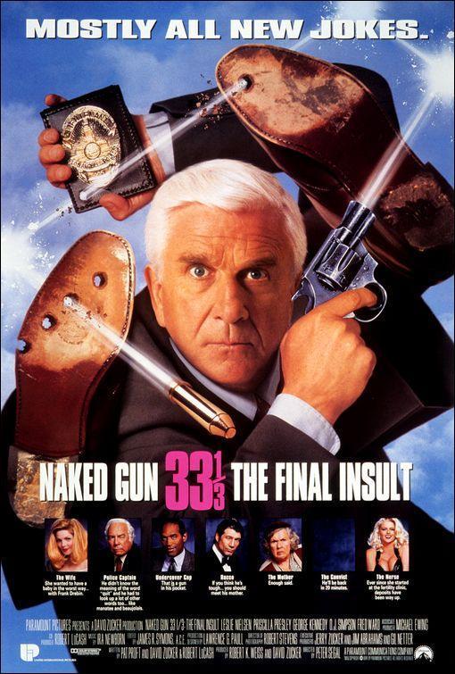 Naked Gun 33⅓: The Final Insult (1994) - 90s Movie Nostalgia