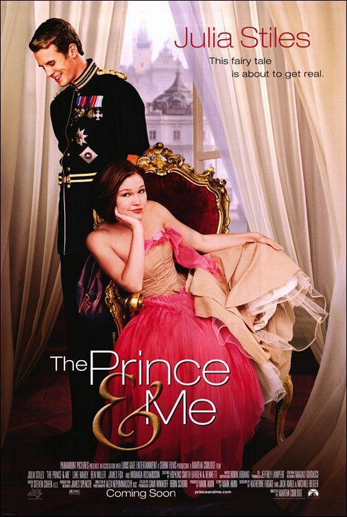 Póster de El príncipe y yo