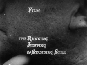 The Running Jumping & Standing Still Film (S)