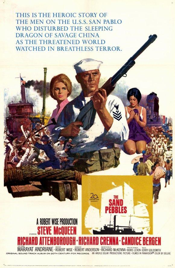 El Yangtsé en llamas (1966)