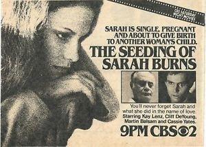 The Seeding of Sarah Burns (TV)