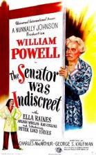 El senador fue indiscreto