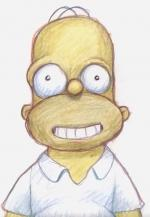 The Simpson: Homer's Face Couch Gag (C)