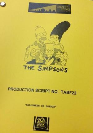 Los Simpson: Halloween del terror (TV)