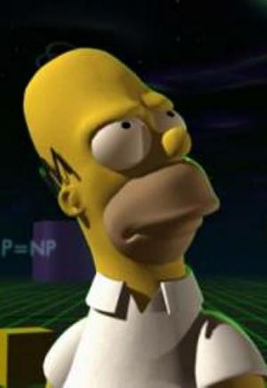 The Simpsons: Homer Cubed (S)