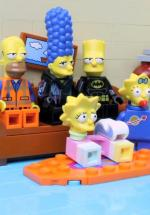 The Simpsons LEGO Movie Couch Gag (C)