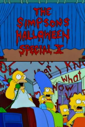 The Simpsons: Treehouse of Horror X (TV)