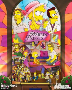 Los Simpson: Warrin' Priests (TV)