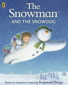 El muñeco de nieve y el perro de nieve