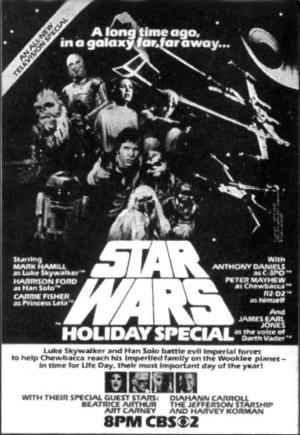 El especial navideño de la Guerra de las Galaxias (The Star Wars Holiday Special) (TV)