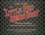 The Story of Little Red Riding Hood (C)