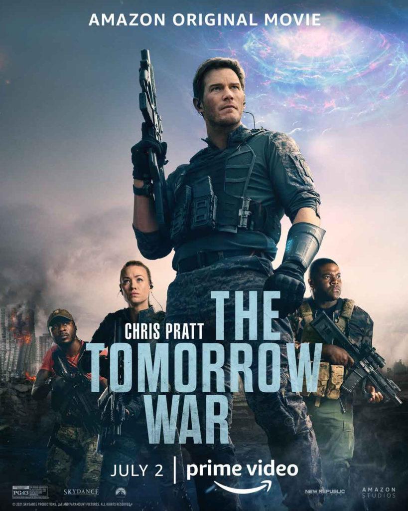 The Tomorrow War: la próxima película de ciencia ficción y criaturas alienígenas de Amazon prime Video