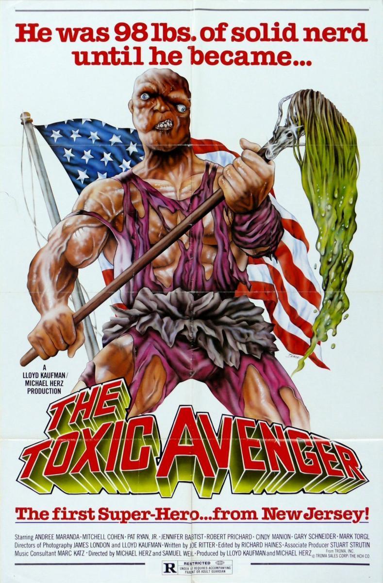 Resultado de imagen para 'The Toxic Avenger' (1984)