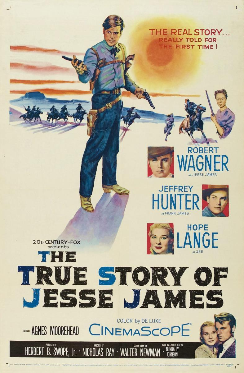 the story of jesse james Available in: dvd actually, this retelling of the life of outlaw jesse james is only as true as its predecessor, the highly fanciful 1939 tyrone.