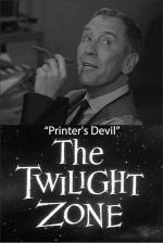 The Twilight Zone: Printer's Devil (TV)